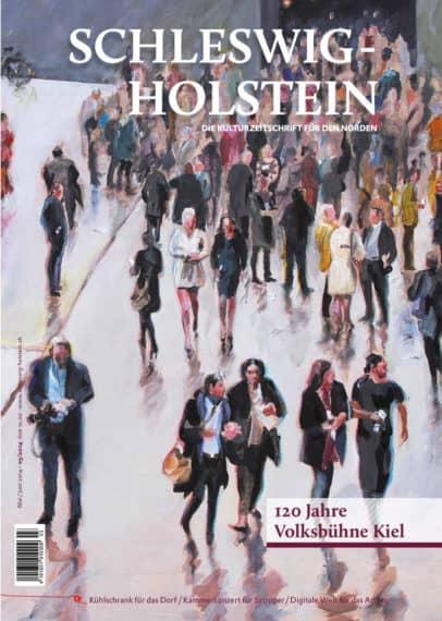 Kulturzeitschrift Schleswig-Holstein, Volksbühne Kiel e.V., Brigitta Borchert