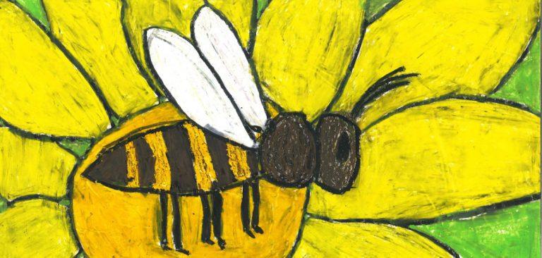Bienen-Malwettbewerb für Kinder