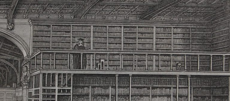 Reisen in die Schatzkammern des kulturellen Gedächtnisses – Ein Bibliotheksreisender in Lübeck am Anfang des 18. Jahrhunderts.