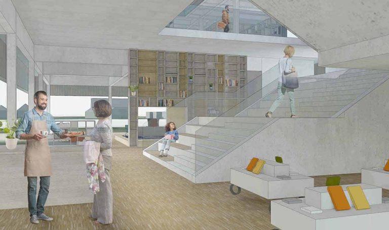 Die Bibliothek als Dritter Ort. Aat Vos im Gespräch mit Kristof Warda